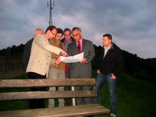 Klettersteig Nochern : Bruch lobt engagment für tourismus in nochern spd kreisverband